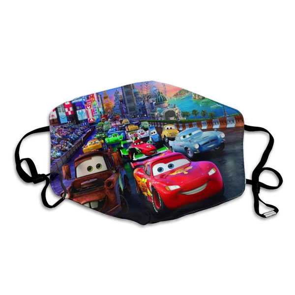Mascarilla Disney Cars
